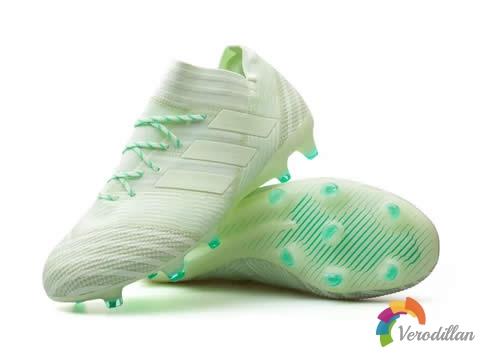 [球鞋近赏]阿迪达斯Nemeziz 17.1 FG薄荷绿配色