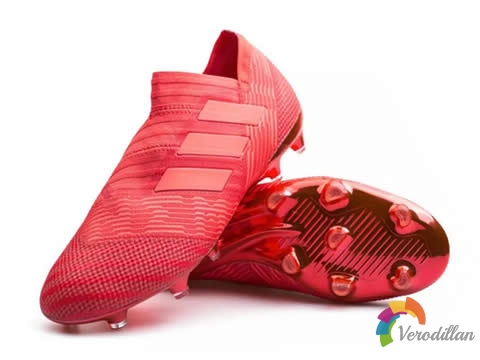 赤红暴风:adidas Nemeziz 17+ 360Agility FG Cold Blooded