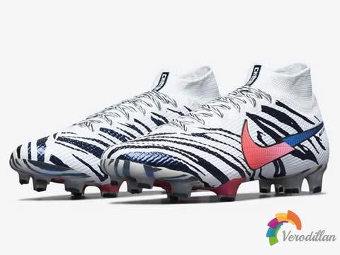 耐克Mercurial Korea特别版足球鞋,灵感源自太极虎虎斑