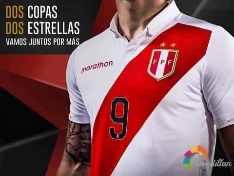 更具复古气质:秘鲁国家队2019年美洲杯主客场球衣
