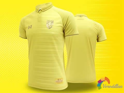 [设计解码]泰国国家队2019泰王杯球衣