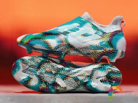 迷幻风格:阿迪达斯全新Glitch 19 Virtuso Skin外靴