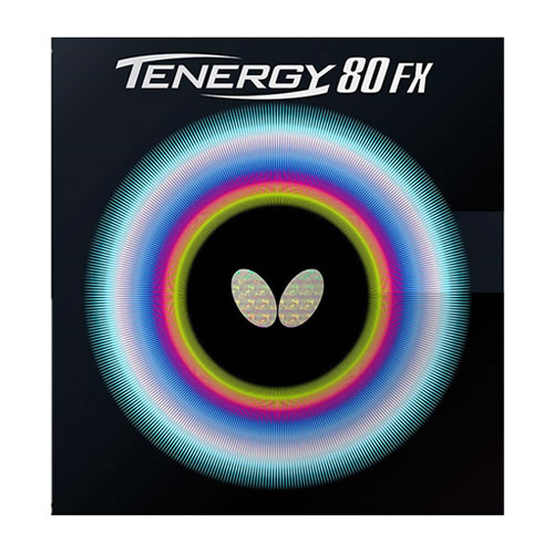 蝴蝶TENERGY 80 FX乒乓球套胶