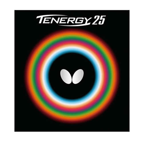 蝴蝶TENERGY 25乒乓球套胶