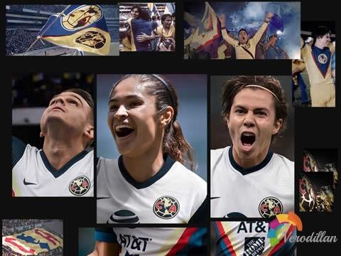 终极疾速:墨西哥美洲2020/21赛季客场球衣