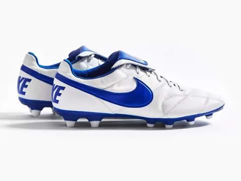 大鞋舌重新回归:耐克Premier 2.0白蓝配色