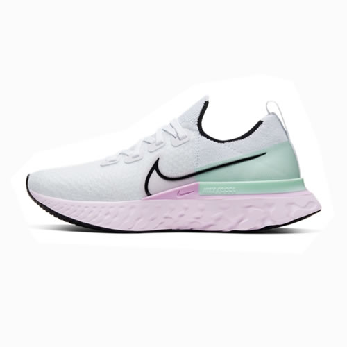 耐克CD4372 REACT INFINITY RUN FK女子跑步鞋图1高清图片