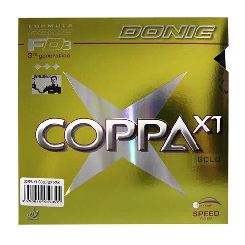 多尼克COPPA X1 GOLD(金装)乒乓球套胶