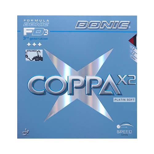 多尼克COPPA X2(软铂金)乒乓球套胶