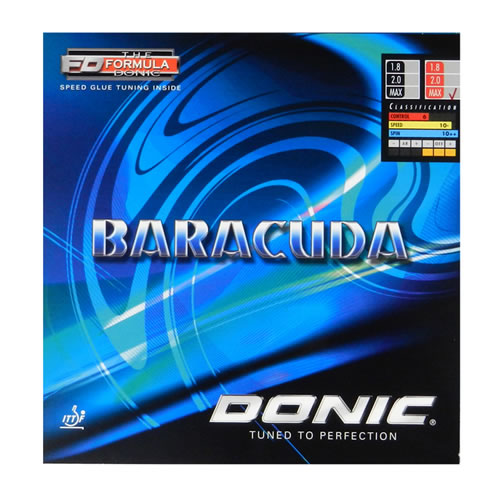 多尼克Baracuda(巴拉库达)乒乓球套胶