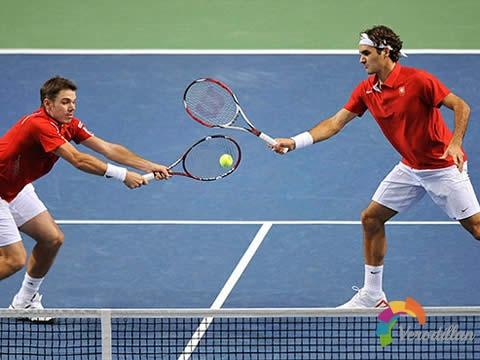解码网球双打比赛中抢网截击战术的运用