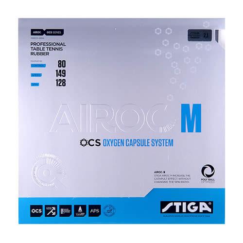 斯蒂卡Airoc M(氧气单元M)乒乓球套胶