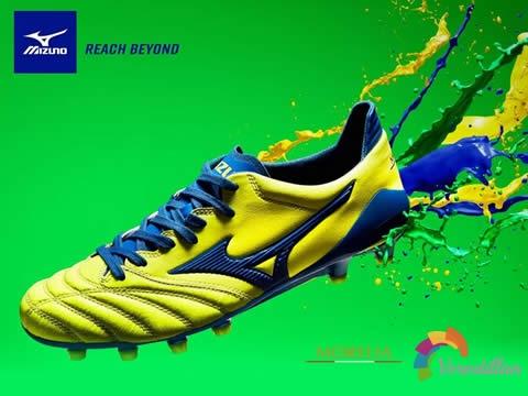 浓浓桑巴风格:美津浓Spirit Clolor  Pack足球鞋套装