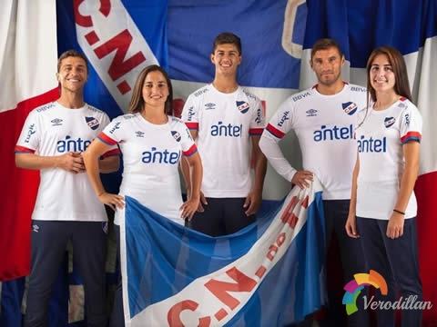 [细节近赏]乌拉圭国民2020赛季主场球衣