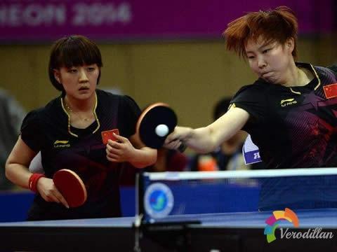 乒乓球双打有哪几种站位和移动方式
