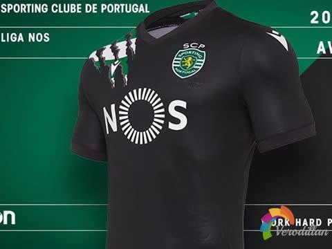 野性十足:葡萄牙体育2020/21赛季客场球衣