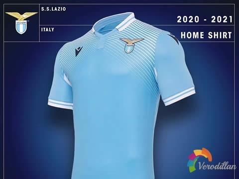 拉齐奥2020/21赛季主场及第二客场球衣亮相意甲联赛