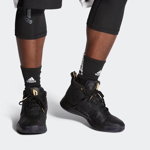 阿迪达斯EG6577 Dame 5 Marvel GCA男子篮球鞋图6