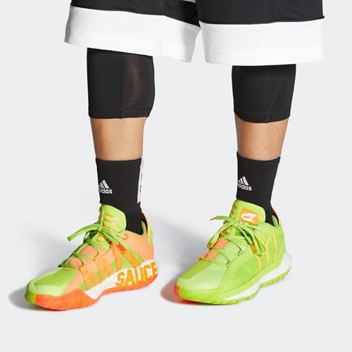 阿迪达斯FX3334 Dame 6 GCA McDonalds男子篮球鞋图6