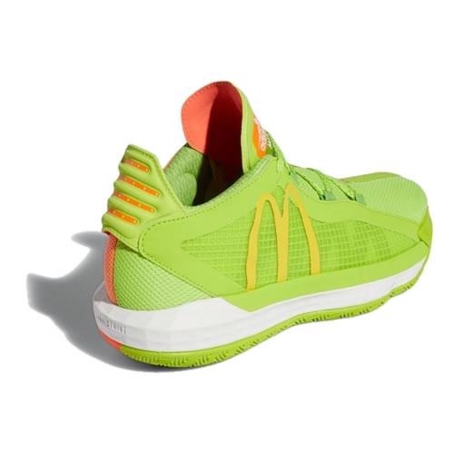 阿迪达斯FX3334 Dame 6 GCA McDonalds男子篮球鞋图3高清图片