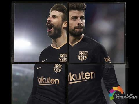 [细节近赏]巴塞罗那2020/21赛季客场球衣