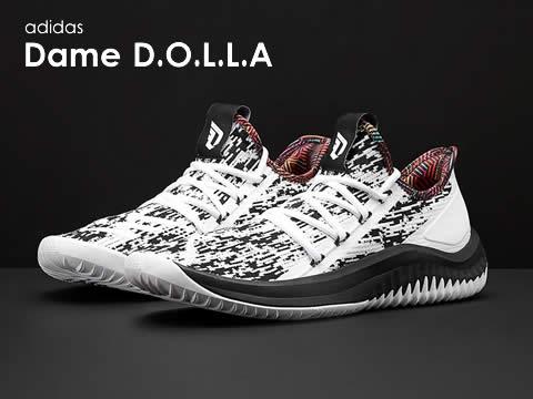 阿迪达斯Dame D.O.L.L.A篮球鞋型号报价(最新版)