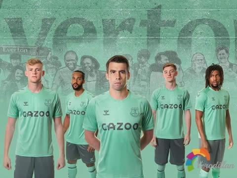 [设计解码]埃弗顿2020/21赛季第二客场球衣