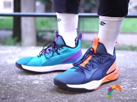 脚感舒适:Puma Uproar篮球鞋实穿测评图1