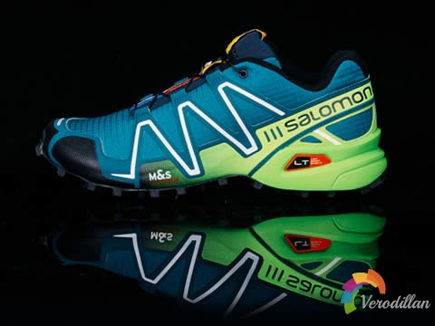 立体感十足:Salomon SpeedCross 3开箱报告
