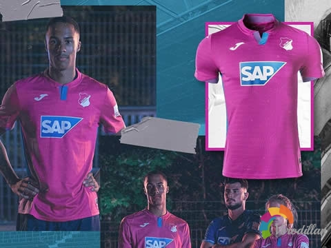 Joma发布霍芬海姆2020/21赛季客场与第二客场球衣