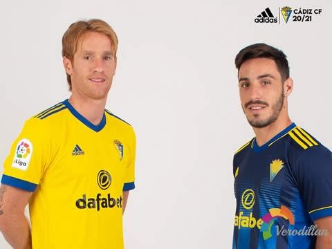 加的斯2020/21赛季主客场球衣亮相西甲赛场