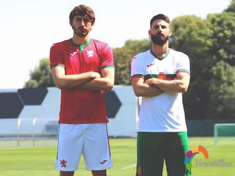 保加利亚国家队历年主客场球衣盘点[球衣专辑]