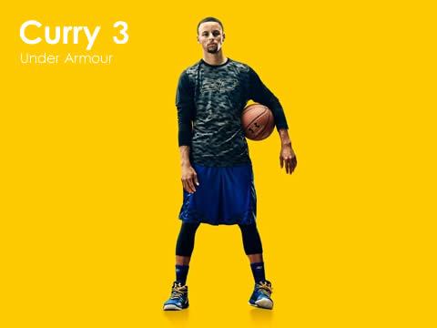 安德玛Curry 3(库里3代)篮球鞋型号报价(最新版)