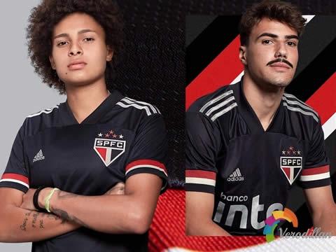 圣保罗2020/21赛季第二客场球衣设计曝光