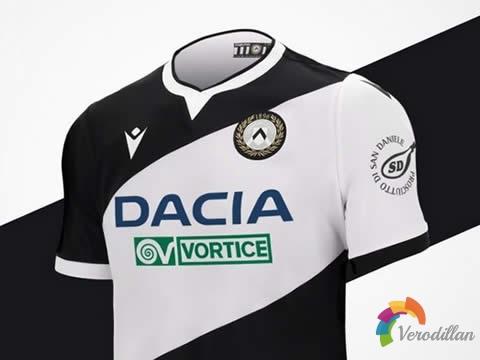 标志性黑白外观:乌迪内斯2020/21赛季主场球衣