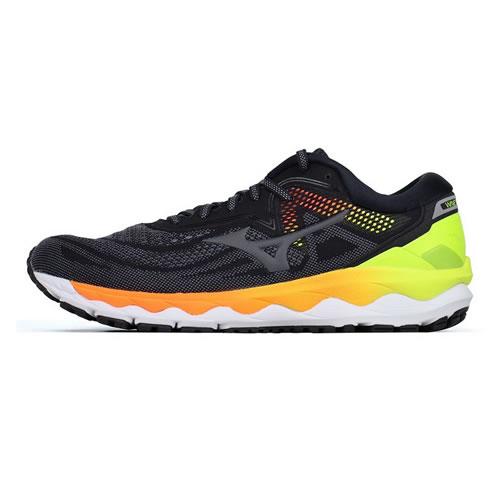 美津浓J1GC200236 WAVE SKY 4男子跑步鞋