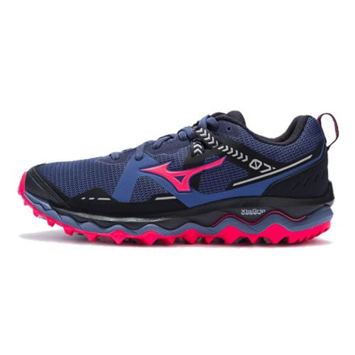 美津浓J1GK207038 WAVE MUJIN 7女子越野跑鞋
