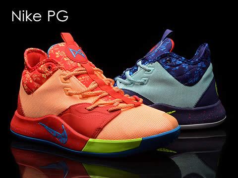 耐克PG(乔治)系列篮球鞋型号价格(全部配色)