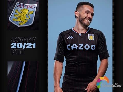 [设计解码]阿斯顿维拉2020/21赛季客场球衣