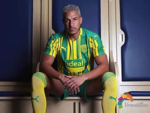 PUMA发布西布罗姆维奇2020/21赛季客场球衣