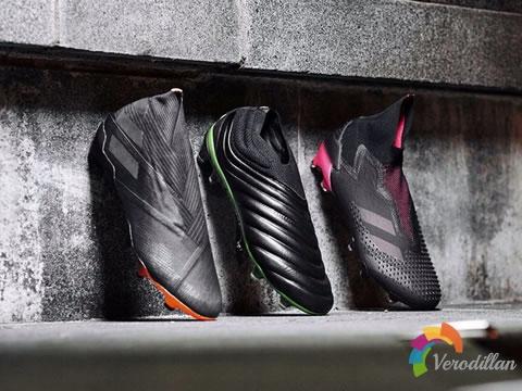 阿迪达斯Dark Motion足球鞋套装全新亮相