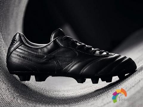 神秘全黑外观:美津浓Revolution Reborn足球鞋套装