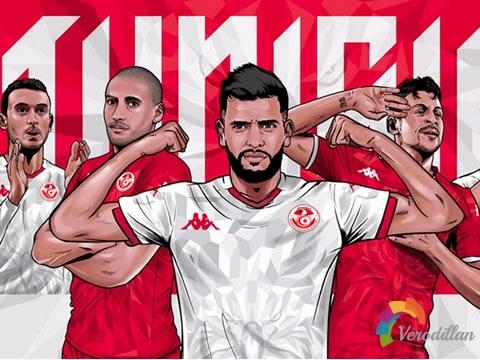 恪守传统:突尼斯国家队2020/21年主客场球衣