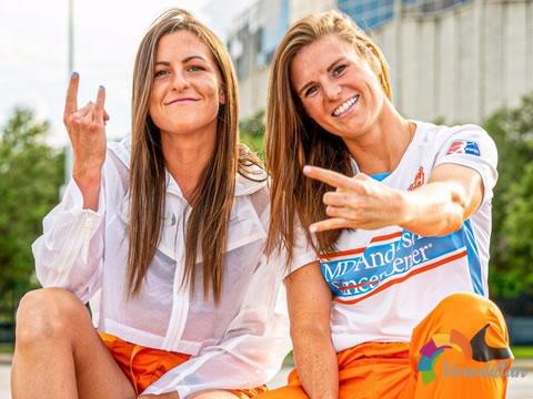 全新复古设计:休斯顿冲击女足2020赛季客场球衣