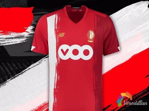 继承红色传统:标准列日2020/21赛季主场球衣