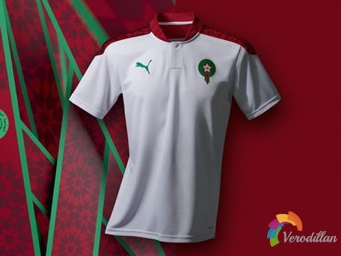 摩洛哥国家队携手PUMA发布2020/21年主客场球衣