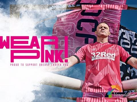 德比郡2020/21赛季第二客场球衣正式亮相