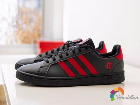 专属设计:阿迪达斯Grand Court弗拉门戈特别版运动鞋