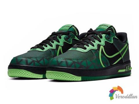 [细节近赏]耐克全新Air Force 1 React Naija运动鞋