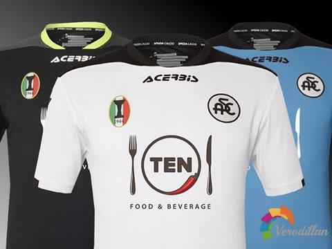 Acerbis发布斯佩齐亚2020/21赛季主客场球衣